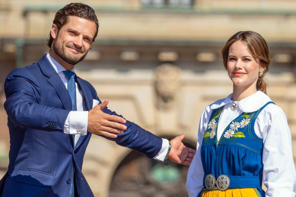 Frohe Kunde für schwedische Prinzessin Sofia und Prinz Carl Philip nach Corona-Infektion