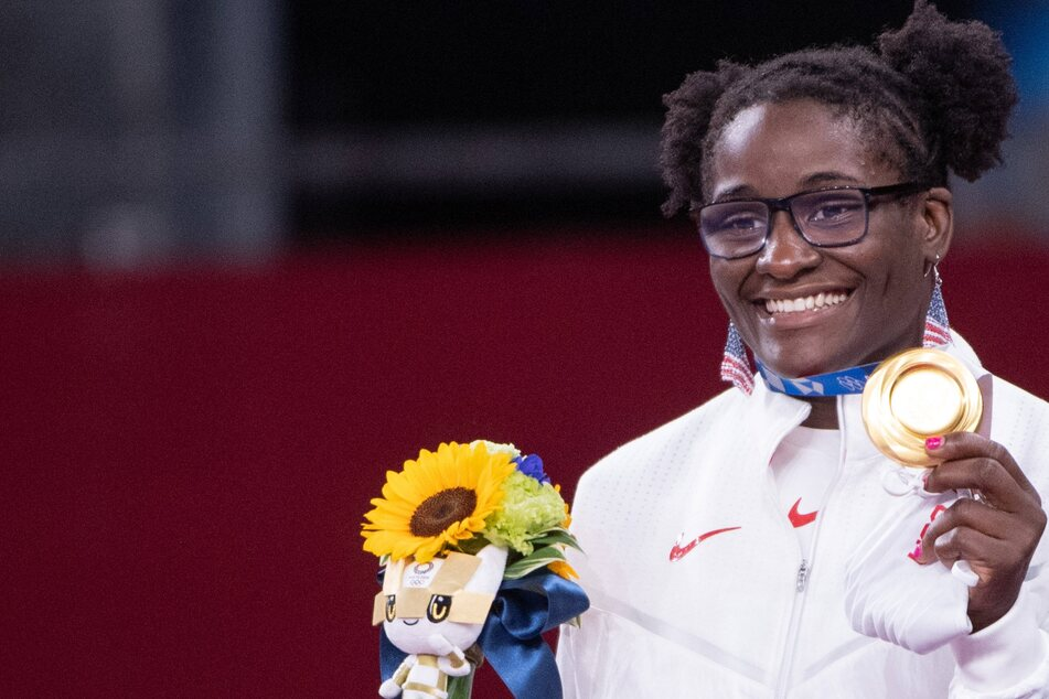 Mensah-Stock hopes her historic Olympic gold inspires others to achieve greatness