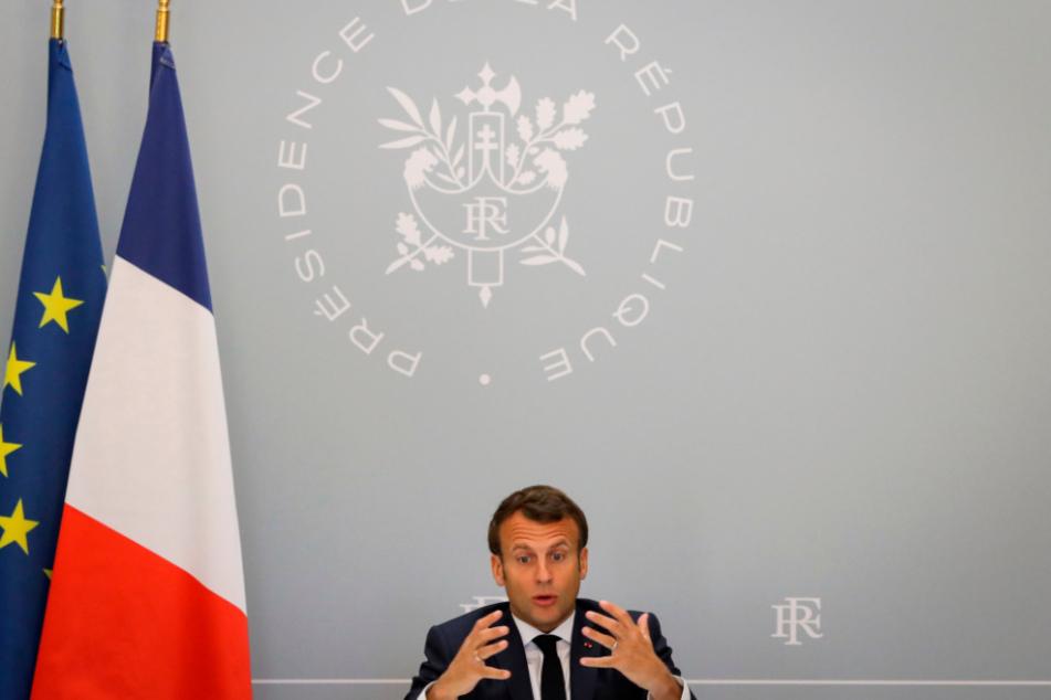 Emmanuel Macron (42), Präsident von Frankreich.