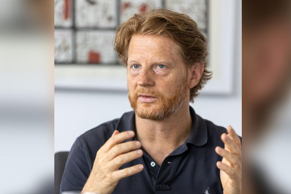 Baubürgermeister Michael Stötzer (48, Grüne).