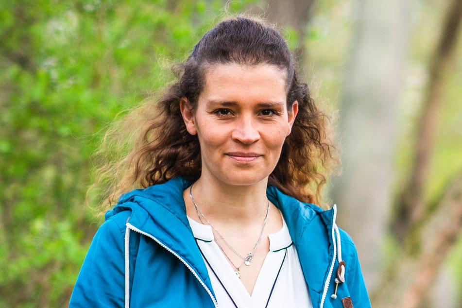 Die Lehrerin Katarina Seidel (36) legt sich für die sportlichen Jugendlichen ins Zeug und unterstützt ihre Bitte um einen Dirtbike-Parcours.