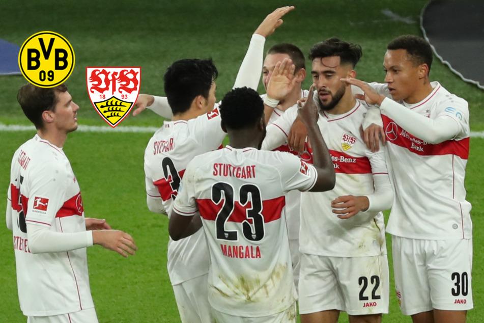 """VfB begeistert bei Triumph über den BVB Fußball-Deutschland und Hitzlsperger: """"Ich könnt Konfetti kotzen"""""""