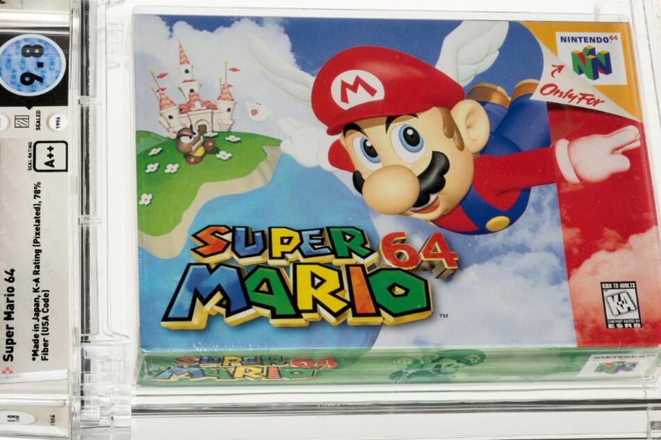 """Diese N64-Version des Kultspiels """"Super Mario 64"""" hat einen neuen Besitzer gefunden. Ein Käufer bot die unglaubliche Summe von 1,56 Millionen US-Dollar."""