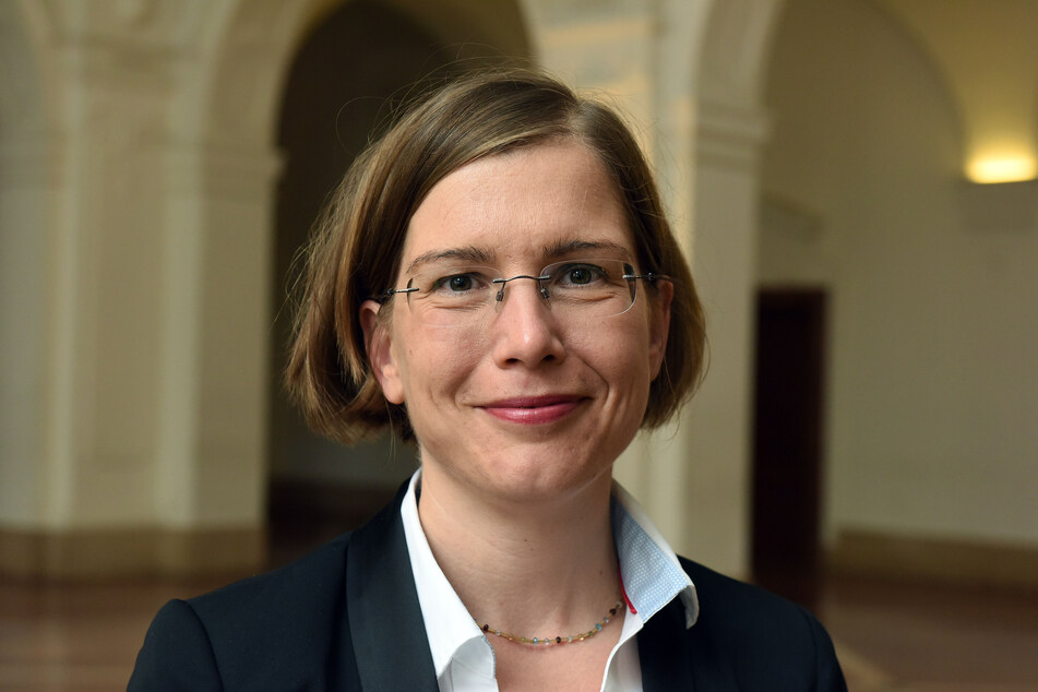 Leipzigs Kulturbürgermeisterin Dr. Skadi Jennicke (43, Die Linke).