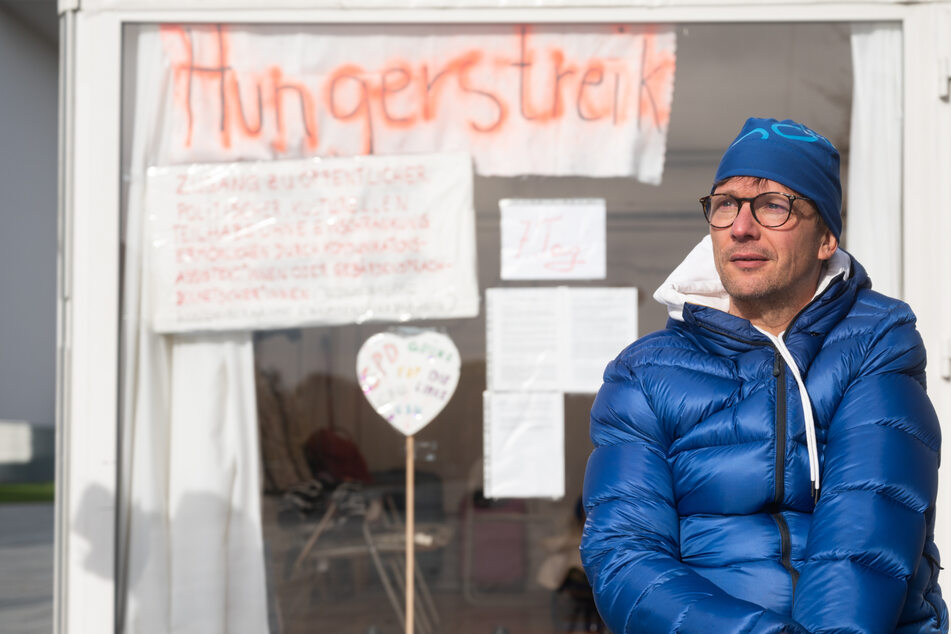 Politiker isst nichts mehr: Darum ist er in den Hungerstreik getreten
