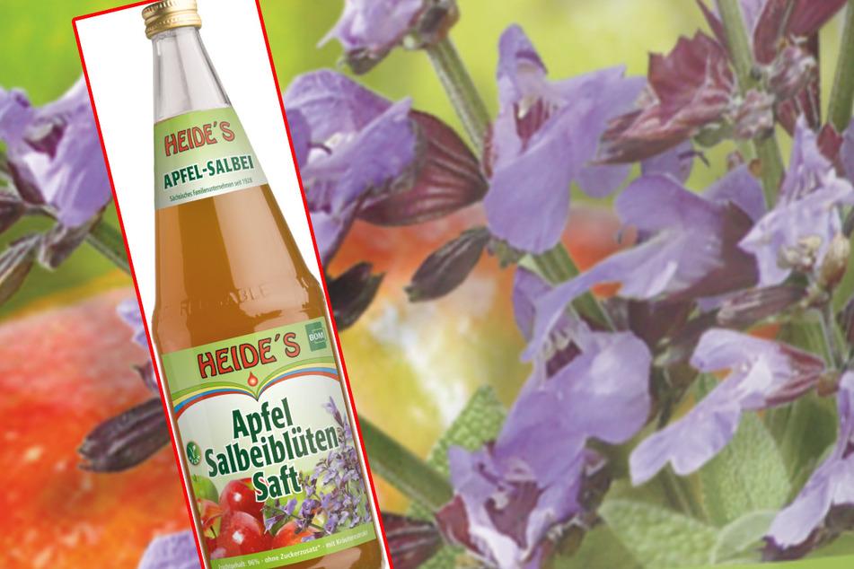 Nächste Woche kommt der Apfel-Salbeiblüten-Saft in den Handel.
