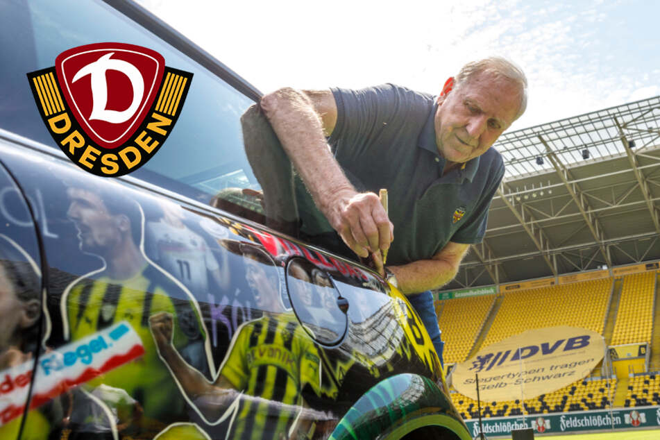 """Kloppocar"": Kick-Start im Rudolf-Harbig-Stadion"