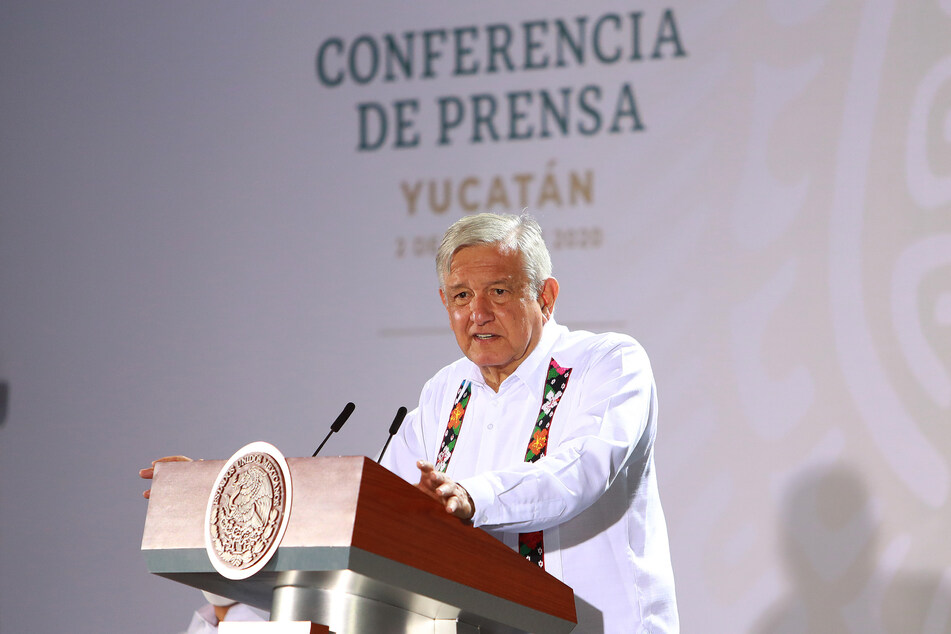 Andrés Manuel López Obrador, Präsident von Mexiko.