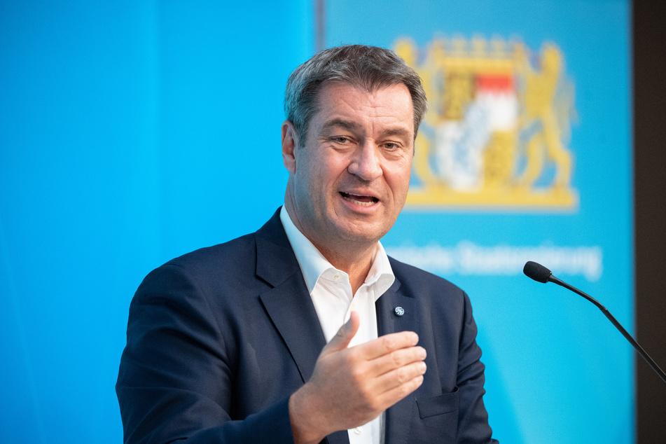 Bayerns Ministerpräsident Markus Söder (54, CSU) mahnt auch in EM-Zeiten zur Vorsicht vor dem Coronavirus.