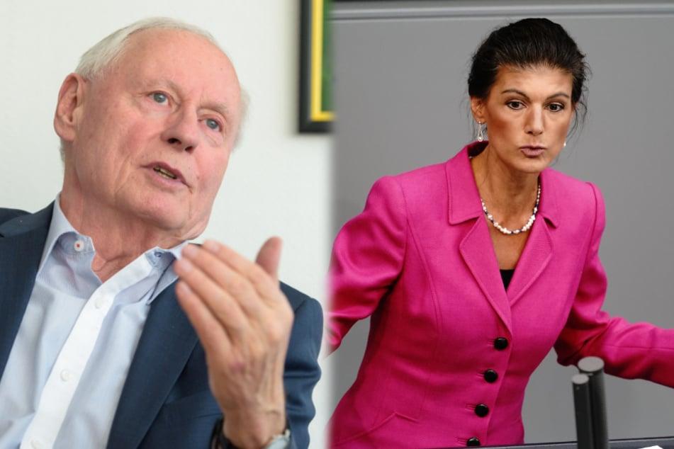 Sahra Wagenknecht und Oskar Lafontaine warnen im Fall Nawalny vor Heuchelei