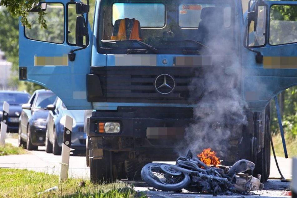 Todes-Crash auf dem alten Sachsenring