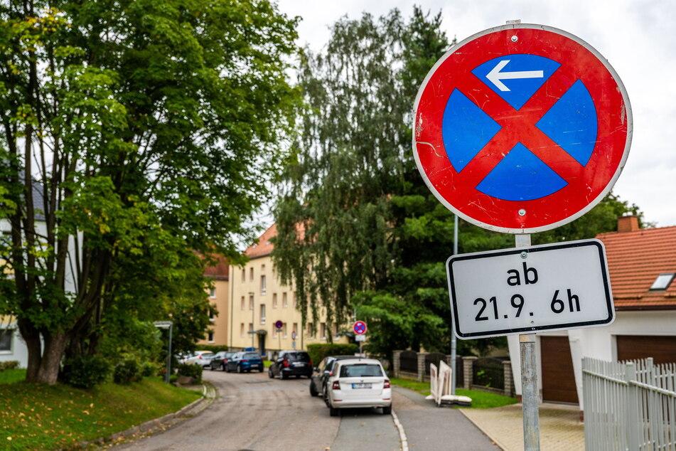Bis wann die Bauarbeiten in Reichenbrand andauern, konnte die Stadt am Montag nicht sagen.