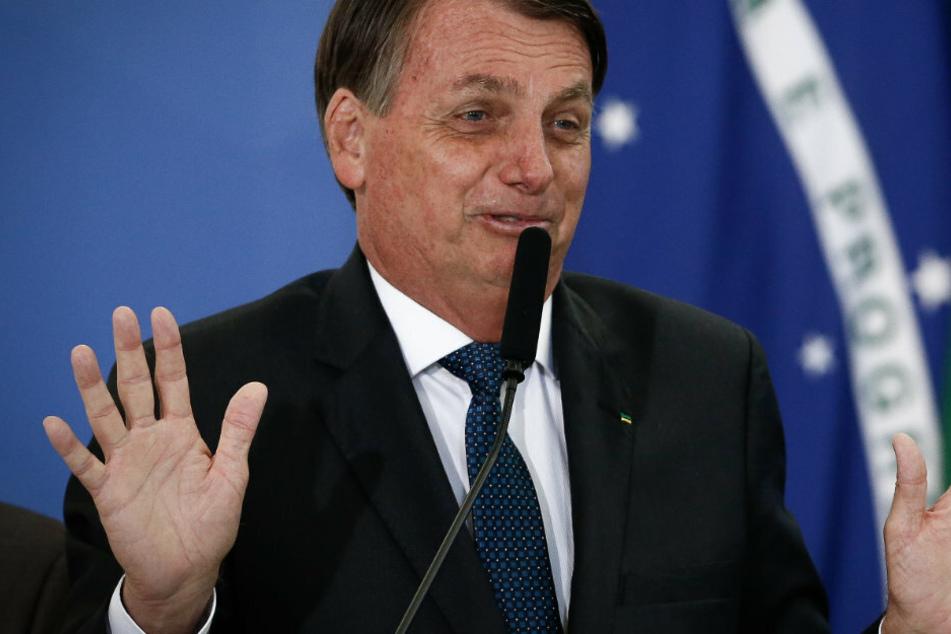 Präsident Bolsonaro zu Corona-Impfstoff: Was, wenn du dich in ein Reptil verwandelst?