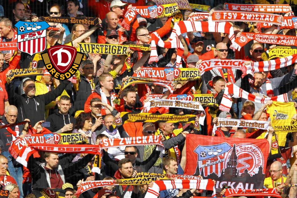 Wahnsinn! FSV Zwickau verkauft 15.462 Geistertickets für Partie gegen Dynamo