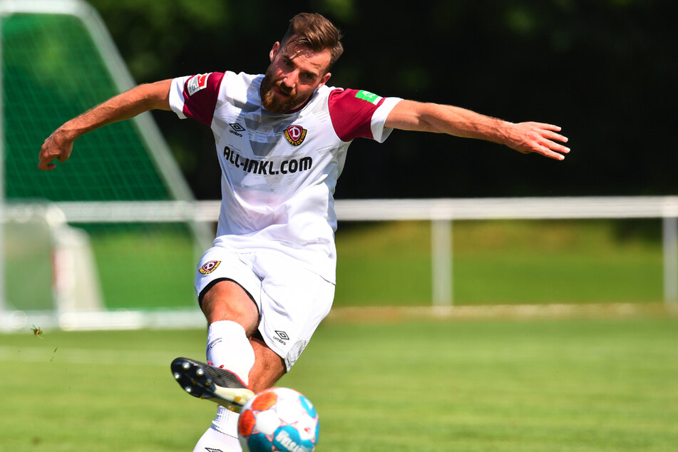 Morris Schröter (25) nutzte den FSV Zwickau als Karriere-Sprungbrett und spielt jetzt für Dynamo Dresden.