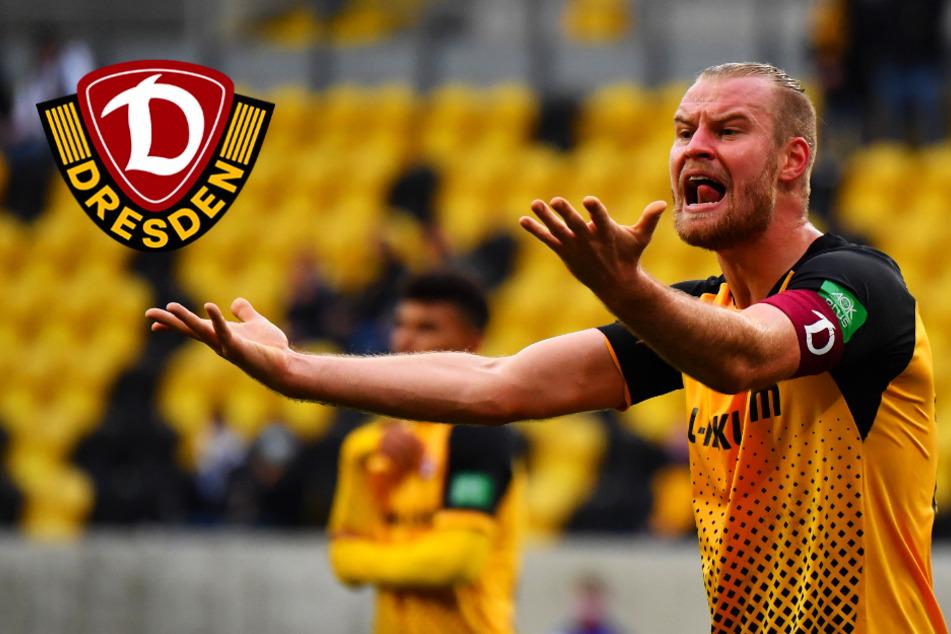 Dynamo droht gegen Hansa Rostock der Ausfall von zwei Leistungsträgern!