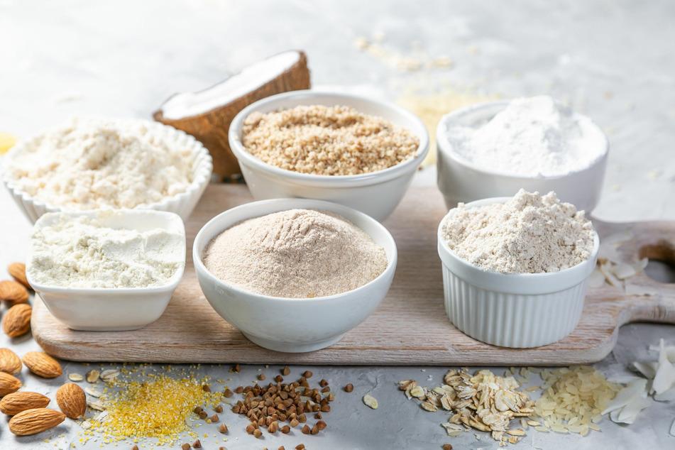 Glutenfreie Mehlsorten gibt es mittlerweile in großer Auswahl zu kaufen.