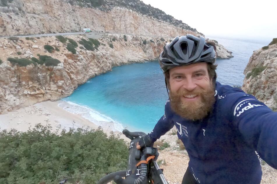 Extremsportler will im Triathlon die Welt umrunden und bleibt in der Türkei stecken