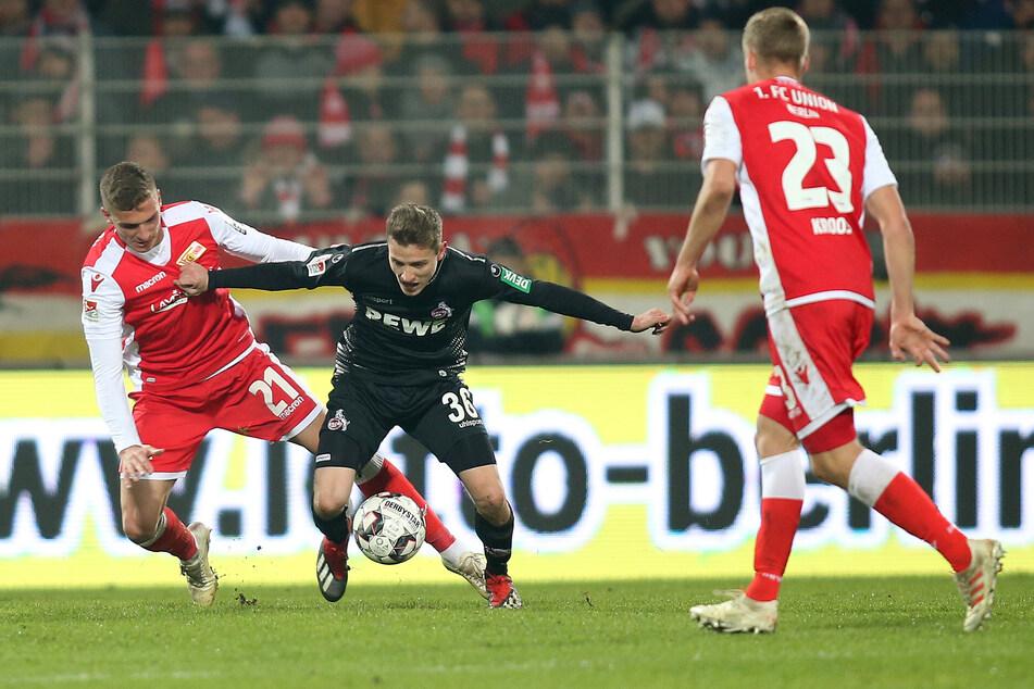 Niklas Hauptmann (24) bei einem Spiel im Jahr 2019 für den 1. FC Köln.
