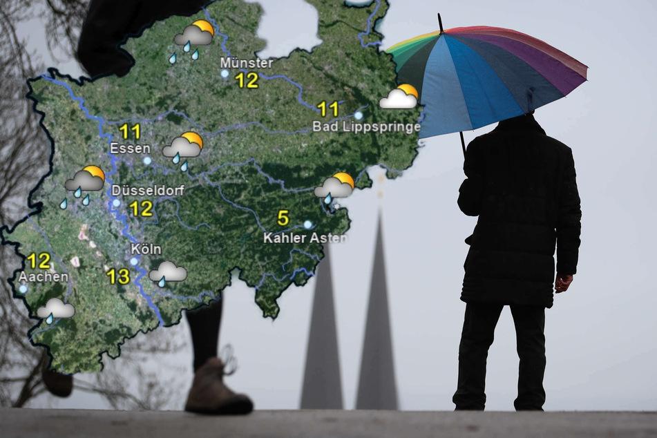 """Auf Sturmtief """"Eugen"""" folgt wechselhaftes Schauerwetter in NRW"""