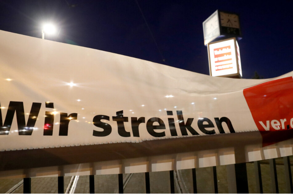Warnstreiks im Nahverkehr von Karlsruhe und Baden-Baden