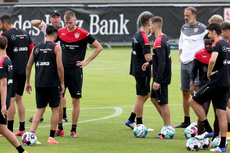 Kämpfen um die Stammplätze: Die Profis des VfB Stuttgart.