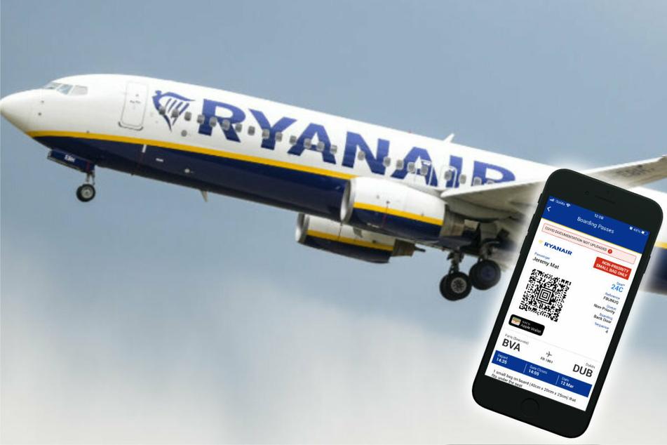 Reisen nur mit Impfpass? Ryanair stellt digitale Corona-Reisebrieftasche vor!