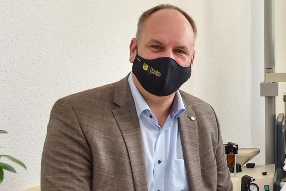 Der Dresdner Oberbürgermeister Dirk Hilbert (49).