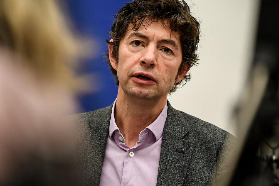 Christian Drosten, Direktor des Instituts für Virologie an der Charite in Berlin, spricht über das neuartige Coronavirus.