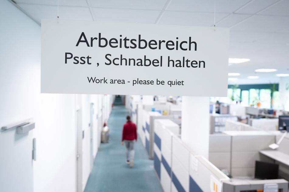 Ein Blick in das Großraumbüro des Chipherstellers Globalfoundries in Dresden.