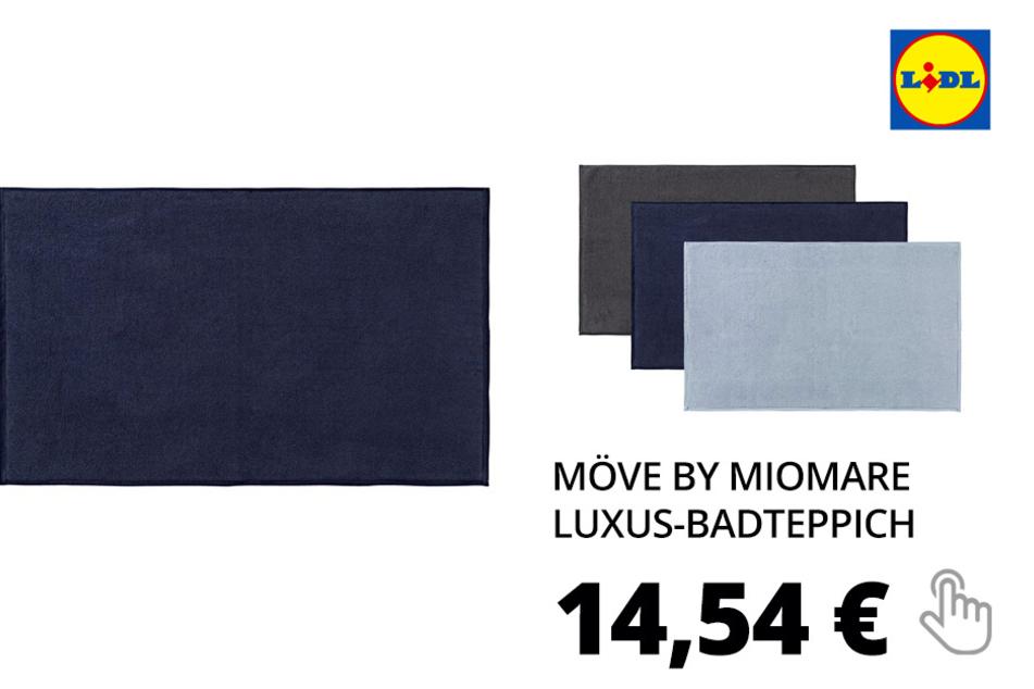 Möve by miomare Luxus-Badteppich