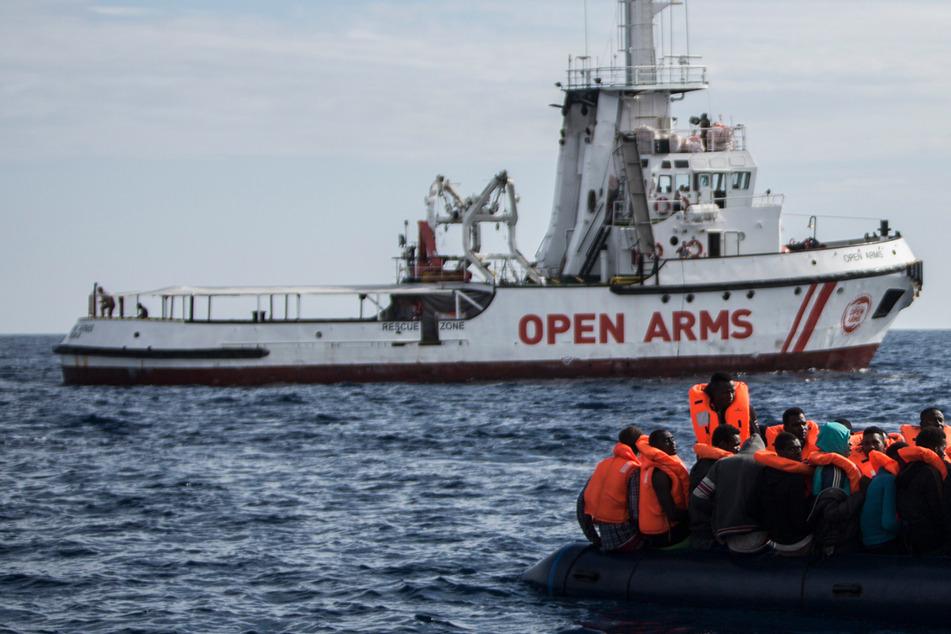 Flüchtlings-Drama auf dem Mittelmeer: Baby stirbt kurz nach Seenot-Rettung