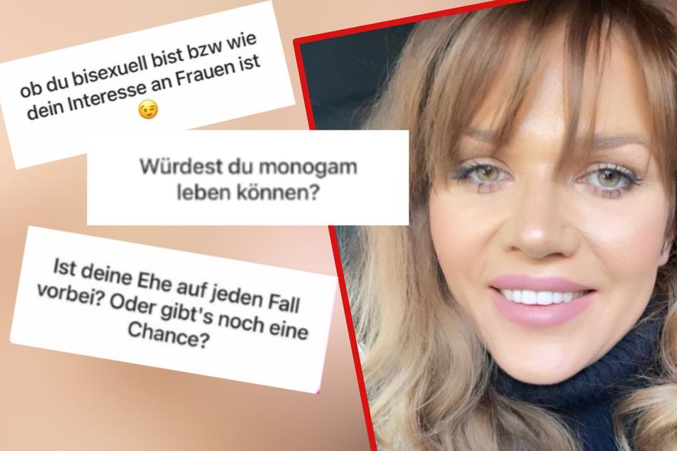Bei Instagram stand Sara (30) ihren Followern Rede und Antwort.