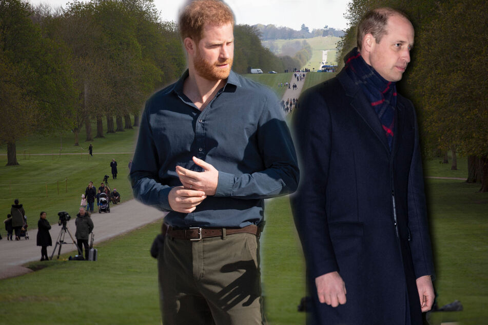 Brotherly rift: Prince Harry and Prince William to keep their distance at Philip's funeral