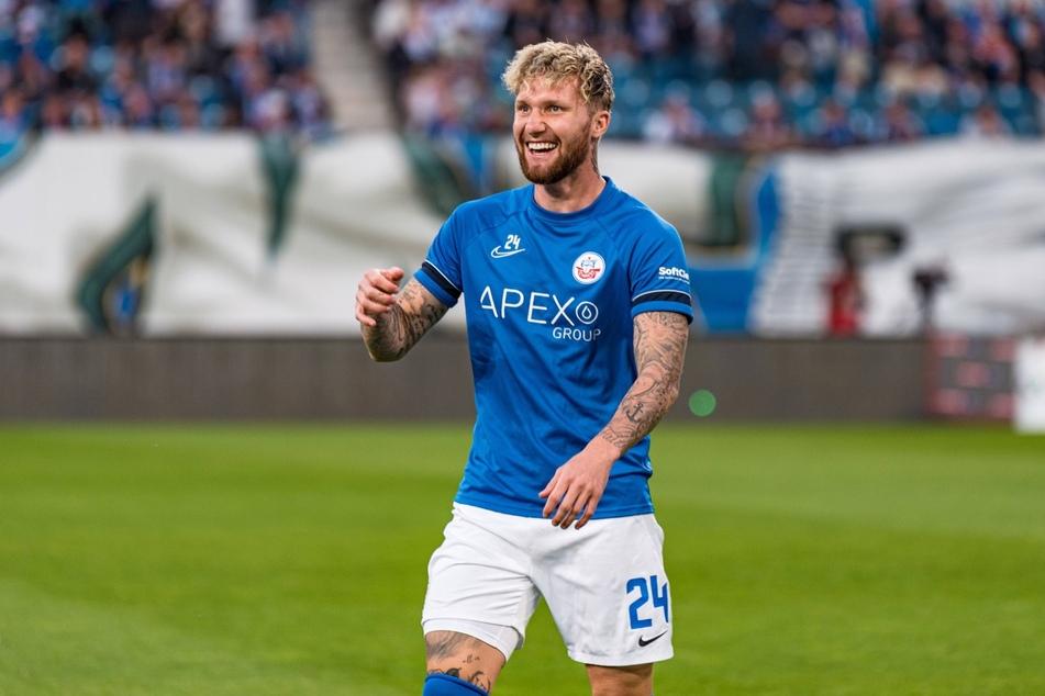 Jan Löhmannsröben (30) wird in Zukunft das Trikot des Halleschen FC tragen.