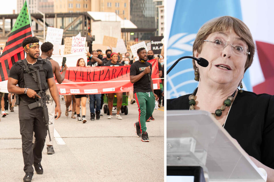 Fight for reparations gains a big supporter in UN human rights chief Michelle Bachelet