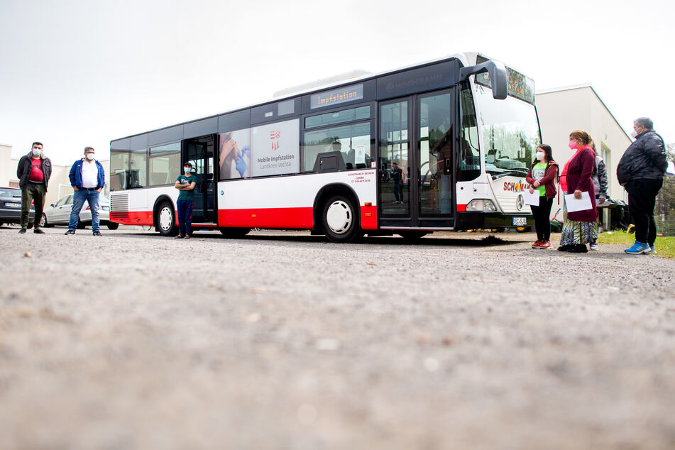 Pilotprojekt: Hier kommt die Corona-Impfung per Bus