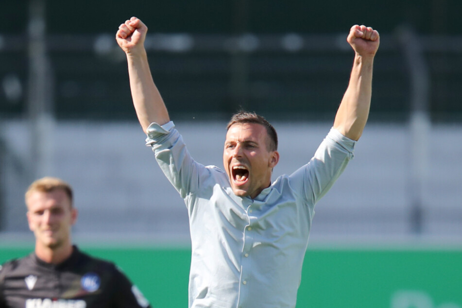 Christian Eichner ist seit Mittwoch offiziell Cheftrainer der Karlsruher.
