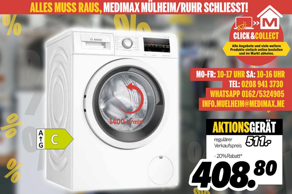 Waschmaschine von Bosch für 408,80 Euro