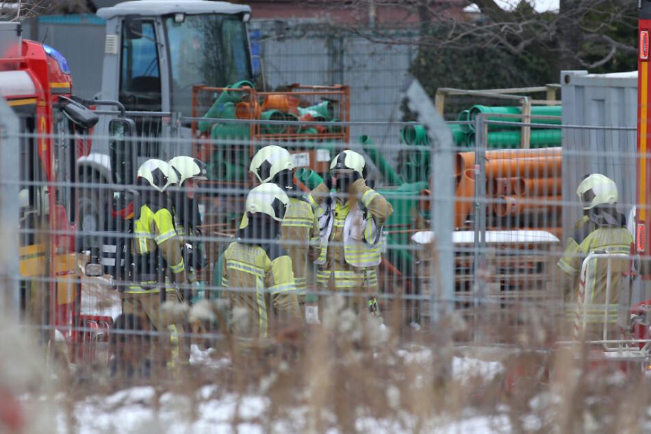 Feuerwehrleute brachten das Feuer relativ schnell wieder unter Kontrolle.
