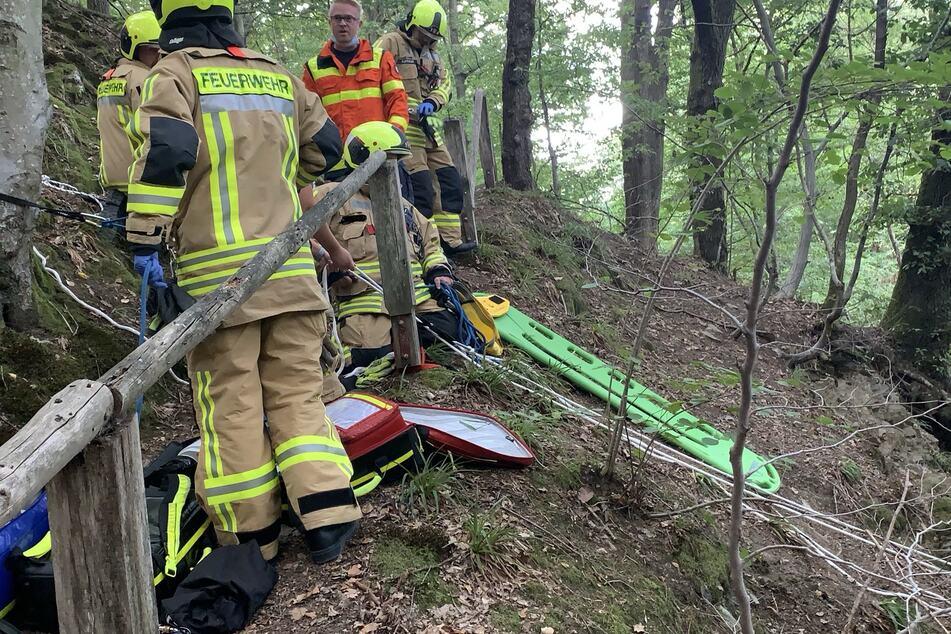 Geländer bricht - Wanderer stürzt sieben Meter in die Tiefe