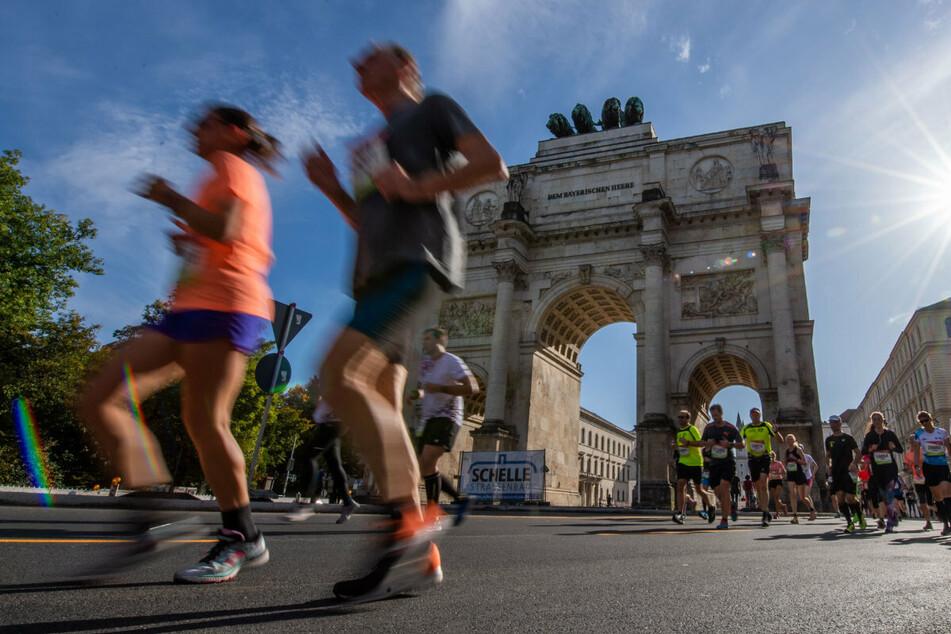 München: München Marathon mit 10.000 Läufern, zahlreiche Einschränkungen im Verkehr