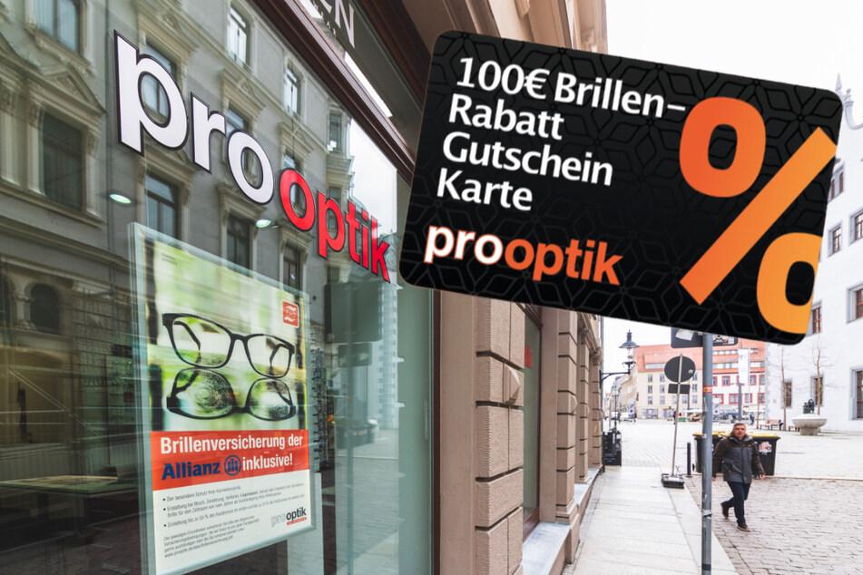 Mit diesem Gutschein bekommt Ihr Brillen 100 Euro günstiger!