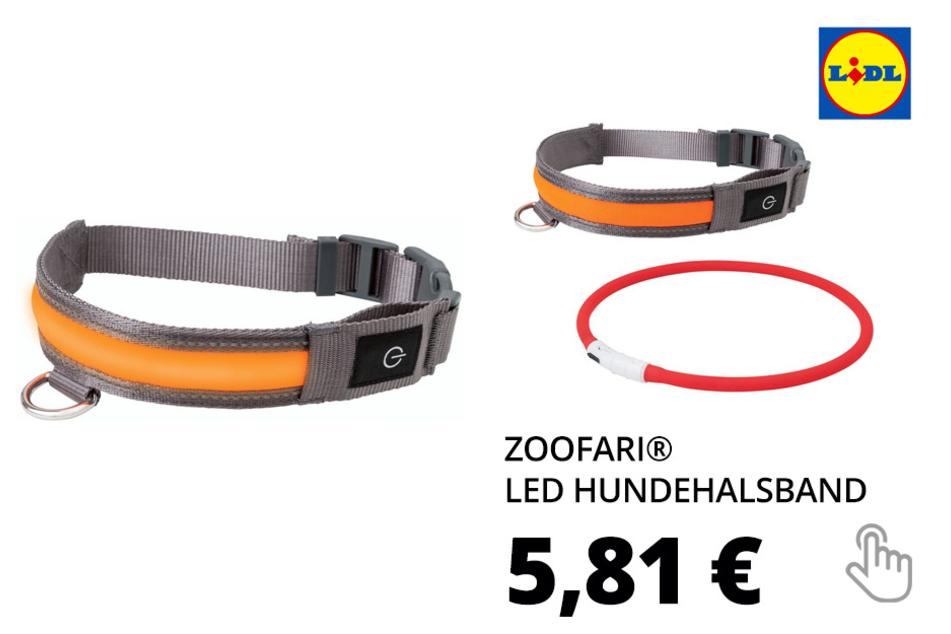 ZOOFARI® LED Hundehalsband, inklusive USB-Kabel