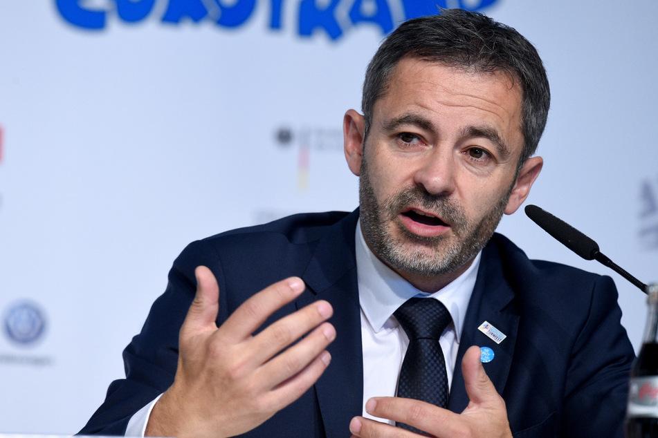Der Präsident des Deutschen Turner-Bundes (DTB) Alfons Hölzl (51) hofft, dass der Deutsche Turner-Bund die Corona-Krise halbwegs glimpflich übersteht.
