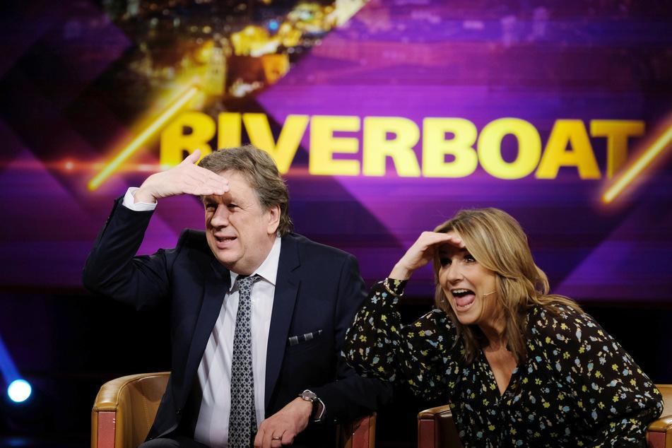 Riverboat-Moderatorin Kim Fisher (51) hat einen Job nach der Talkshow wohl in der Tasche.