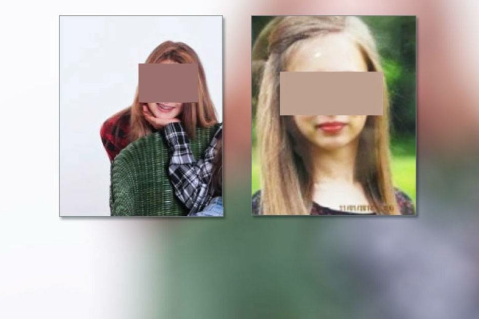 Wo sind diese beiden Mädchen?