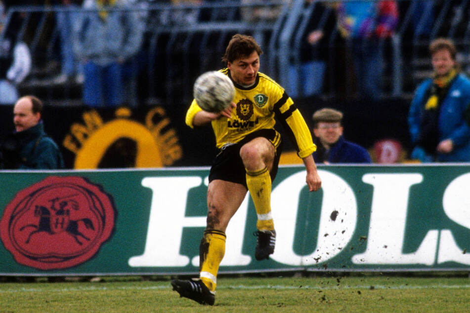 Dirk Zander absolvierte für Dynamo Dresden zwischen 1991 und 1993 40 Spiele (zehn Tore).