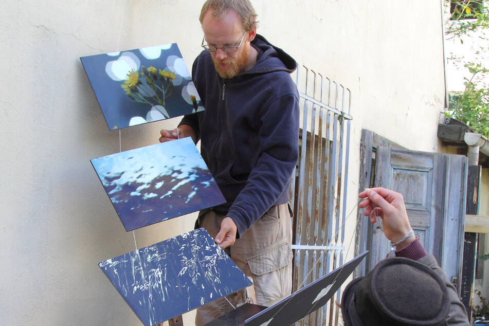 Das Neustadt Art Festival lockt trotz Corona Kunstfreunde nach Dresden.