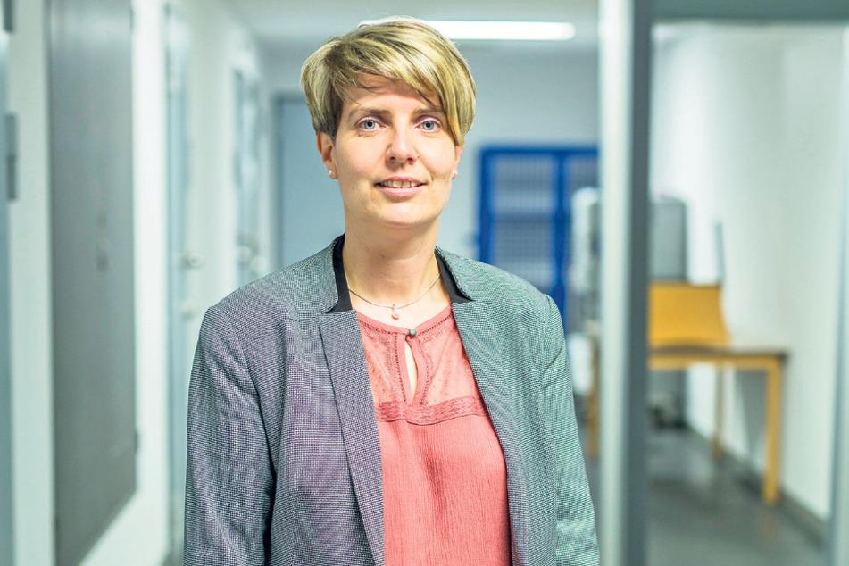 Regierungsdirektorin Rebecca Stange (40), die Leiterin der JVA Dresden.